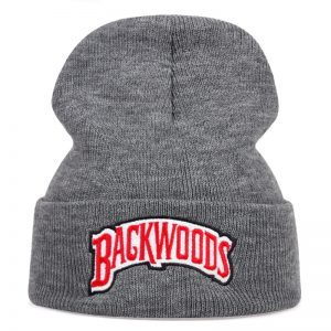 grey backwoods dad hat