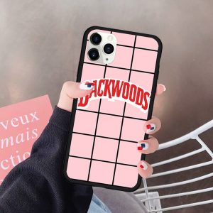 pink and black backwoods case