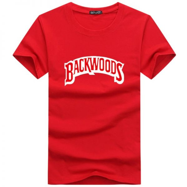 red backwoods t shirts
