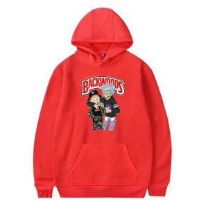 red backwoods hoodies